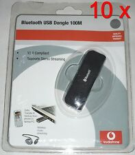 10x vodafone Bluetooth USB dongle 100m-bta-6030 - versión 2.0 + EDR = 5,90 €/St.