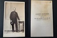 Von Enckenvort_Vogelsang Vintage albumen print CDV. Famille von Enckevort, von