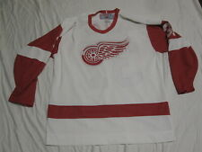 Vintage CCM 90's DETROIT RED WINGS NHL Hockey All Sewn TIM TAYLOR Jersey L MINT!