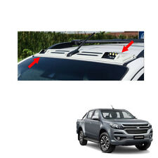 LED Front Roof Spoiler Cover White Trim 1Pc For Chevrolet Holden Colorado 2017 +
