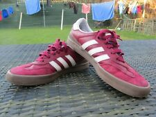 Men's Adidas Busenitz Vulc RX Red Leather Skateboarding Trainers UK 11.5 / US 12