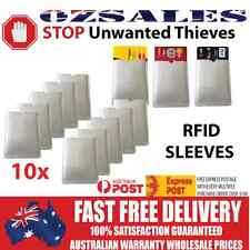 10x ID RFID Blocking Credit Card Sleeve Shield Holder Protector 0zSales