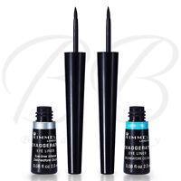 RIMMEL Exaggerate Liquid Eyeliner 001 BLACK & 003 WATERPROOF BLACK*CHOOSE SHADE*
