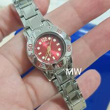 a96e4d7d2358 Reloj de cuarzo Casio LTD-2001D-4A analógico Vestido señoras 100M  Temporizador Bisel Mini Cara