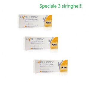 Hyalubrix 30 3 Siringhe Preriempite 30Mm/2ml - Fidia