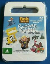 BOB THE BUILDER Snowed Under DVD NEW SEALED Region 4 AUSTRALIAN see below