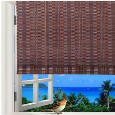 "Natural Bamboo Roll Up Window Blind Roman Sun Shade WB-48N1 (W32"" X H72"")"