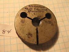 Woodworth 38 24 Nf 3 Lh Thread Gage Nogo 3455 84 Machinist