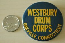 Westbury Drum Corps Oakville Connecticut Pin Pinback Button #31746