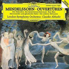 Mendelssohn: Overtures Abbado London Symphony Orchestra