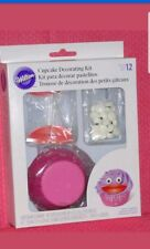2x Wilton Cupcake Decorating Kit Colourful Children Birthday Party Decoration