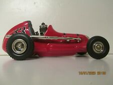 Vintage red tether midget race car, Thimble  Drome  mint