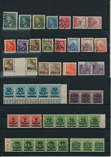 Germany, Deutsches Reich, Nazi, liquidation collection, stamps, Lot,used (VD 14)