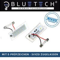 BLUETECH® LED SMD Kennzeichenbeleuchtung Kennzeichenleuchte  BMW X3 X5 E53 E83