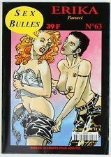BD adultes  Sexbulles N°63, Erika, Fattori