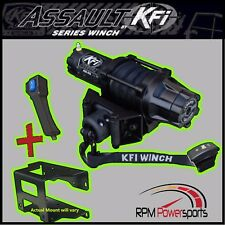 YAMAHA RHINO 700 4X4 KFI ASSAULT 5000LB WINCH & MOUNT 2008-2013