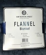 New Ultra Soft Flannel Plush Queen Size Velvet Cozy Blanket Grey 79X94""