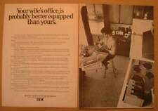 1969IBM Your Wife's Office AD