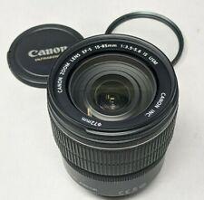 Canon EF-S 15-85mm f/3.5-5.6 IS USM Lens - plus Filter!