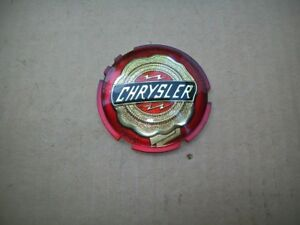 NEW 1951-1954 Chrysler Saratoga New Yorker Windsor Grille & Trunk Medallion