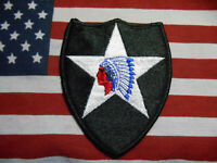 US Army 2nd Infantry Division color SSI Patch m/e