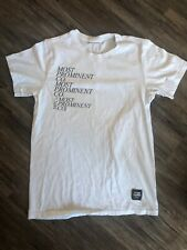 Opening Ceremony x Calvin Klein Kate Moss T shirt Most Prominent Co Tee White
