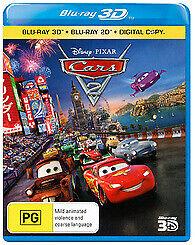 Cars 2 3D & 2D Blu-ray, Brand New & sealed Disney