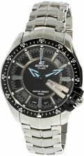 Casio Men's Edifice EF130D-1A2V Black Stainless-Steel Quartz Fashion Watch