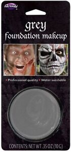 Halloween Makeup Grey Gray Foundation Special FX Professional Grade Costume