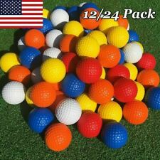 Practice Golf Balls PU Soft Foam Golf Balls for Training School 12/24/36 Pcs US