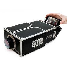 Cardboard Mini Smartphone DIY/Projector Mobile Phone Projector Portable Cinema