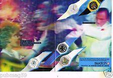 Publicité advertising 1985 (2 pages) Les Montres Swatch