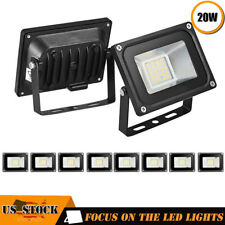 10x 20W LED Flood Light 110V Outdoor Spotlights Landscape Garden Yard Warm White