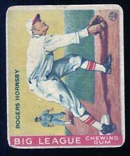 1933 Goudey Set Break Rogers Hornsby #119 ~ GD condition ~ HOF nice looking