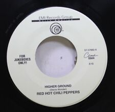 Rock 45 Red Hot Chili Peppers - Higher Ground / If You Want Me To Stay On Emi Re