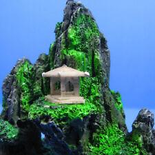 Mountain View Aquarium Small Rock Cave Stone Tree Bridge Fish Tank Decoration