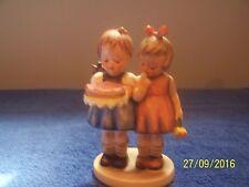 "Vintage Hummel-Goebel ""Happy Birthday"" #176/0 Tmk3 1960's Adorable Rare Figurine"
