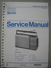 Philips 90 AL290 Kofferradio Service Manual