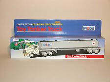 1993 MOBIL TOY TANKER TRUCK 1st IN A  COLLECTORS SERIES BLUE BOX CHINA MINT