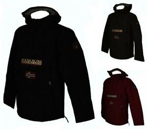 SG Giaccone giubbotto giacca uomo con cappuccio NAPAPIJRI articolo NP0A4EGY RAIN