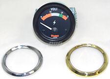 VDO Voltmeter Toro 332-304-006-012 24V 24 Volt 52mm chrom schwarz oder gold