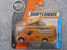 Voitures, camions et fourgons miniatures orange Matchbox 1:64
