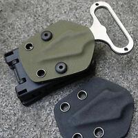 Multifunktionstaillen Waist Clip Scabbard Außen Kunststoff Gear EDC Black E1O9