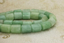 Jade Burma Round Smooth Cylinder Barrel Tube Natural Gemstone Beads