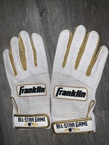Authentic 2018 All Star Game Batting Gloves Player Wore Number 14 Adult Medium