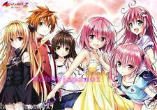 LIMITED EDITION To Love Ru official Promo Poster momo mikan lala nana yami rito