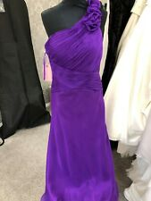 29. Gino Cerutti 1302 Purple Dress RRP£180 uk10