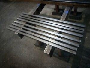 "8x 1000mm x 25mm x 25mm x 2mm (1"" x 1"" x 14G) ERW Square Steel Box Section"