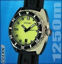 OCEAN7 LM-3 v2 Swiss Automatic 1250m Dive Watch, Lume Dial, New in Box!