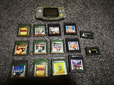 Nintendo Game Boy Handheld-Spielkonsole - Clear Blue
